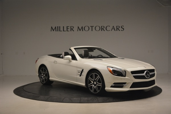 Used 2015 Mercedes Benz SL-Class SL 550 for sale Sold at Maserati of Greenwich in Greenwich CT 06830 12
