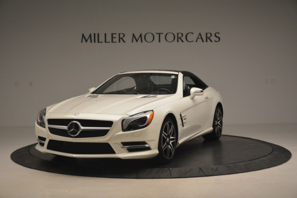 Used 2015 Mercedes Benz SL-Class SL 550 for sale Sold at Maserati of Greenwich in Greenwich CT 06830 15