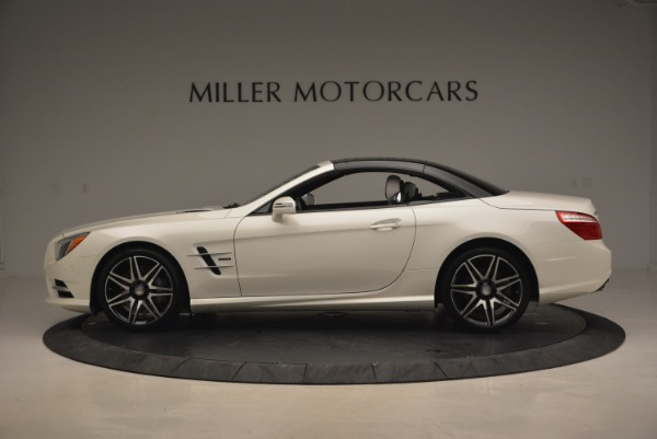 Used 2015 Mercedes Benz SL-Class SL 550 for sale Sold at Maserati of Greenwich in Greenwich CT 06830 17