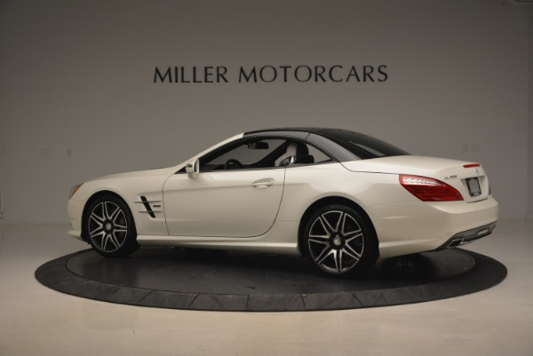 Used 2015 Mercedes Benz SL-Class SL 550 for sale Sold at Maserati of Greenwich in Greenwich CT 06830 18