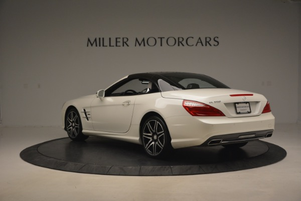 Used 2015 Mercedes Benz SL-Class SL 550 for sale Sold at Maserati of Greenwich in Greenwich CT 06830 19