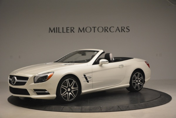 Used 2015 Mercedes Benz SL-Class SL 550 for sale Sold at Maserati of Greenwich in Greenwich CT 06830 2