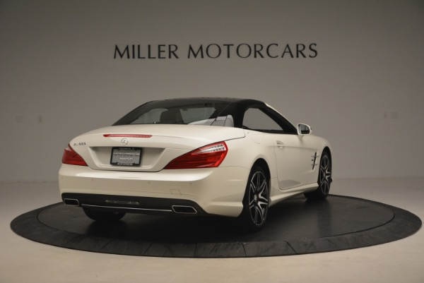 Used 2015 Mercedes Benz SL-Class SL 550 for sale Sold at Maserati of Greenwich in Greenwich CT 06830 21