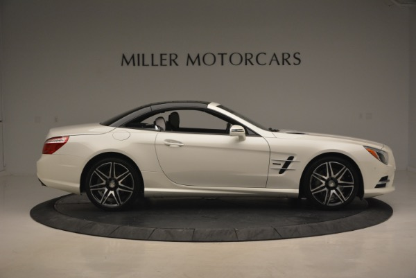 Used 2015 Mercedes Benz SL-Class SL 550 for sale Sold at Maserati of Greenwich in Greenwich CT 06830 23