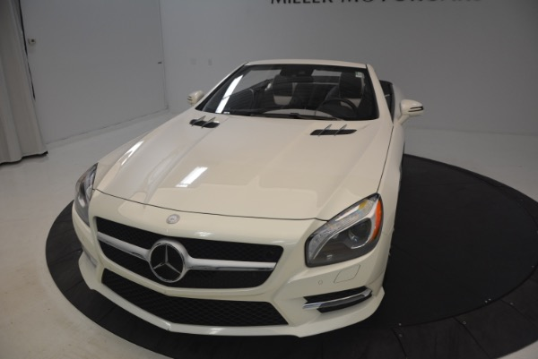 Used 2015 Mercedes Benz SL-Class SL 550 for sale Sold at Maserati of Greenwich in Greenwich CT 06830 26