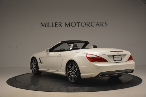 Used 2015 Mercedes Benz SL-Class SL 550 for sale Sold at Maserati of Greenwich in Greenwich CT 06830 5