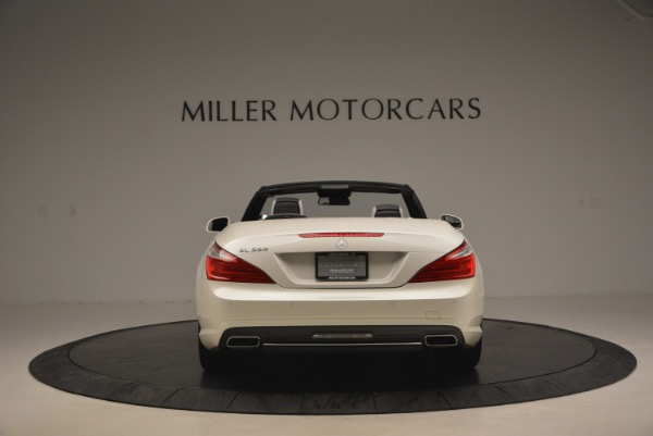 Used 2015 Mercedes Benz SL-Class SL 550 for sale Sold at Maserati of Greenwich in Greenwich CT 06830 6