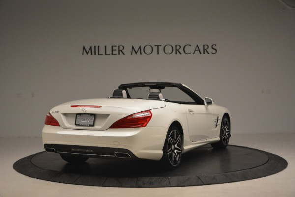 Used 2015 Mercedes Benz SL-Class SL 550 for sale Sold at Maserati of Greenwich in Greenwich CT 06830 7