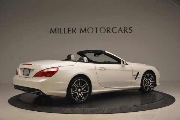 Used 2015 Mercedes Benz SL-Class SL 550 for sale Sold at Maserati of Greenwich in Greenwich CT 06830 8