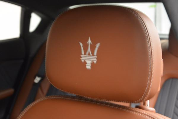 New 2017 Maserati Quattroporte S Q4 GranLusso for sale Sold at Maserati of Greenwich in Greenwich CT 06830 20