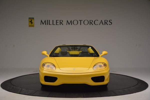 Used 2003 Ferrari 360 Spider 6-Speed Manual for sale Sold at Maserati of Greenwich in Greenwich CT 06830 12