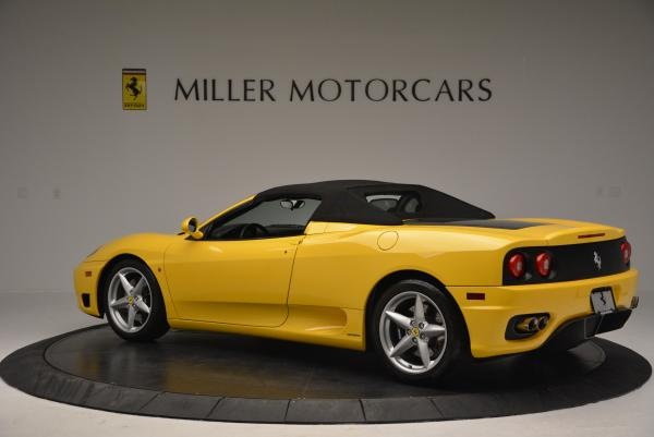 Used 2003 Ferrari 360 Spider 6-Speed Manual for sale Sold at Maserati of Greenwich in Greenwich CT 06830 16
