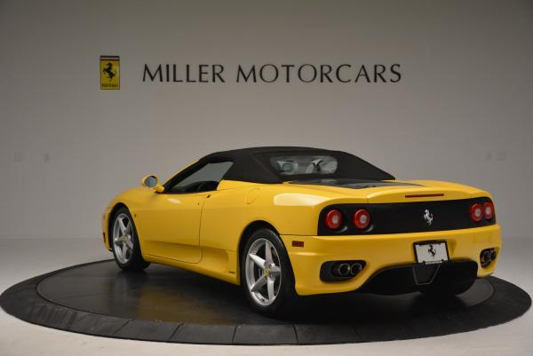 Used 2003 Ferrari 360 Spider 6-Speed Manual for sale Sold at Maserati of Greenwich in Greenwich CT 06830 17