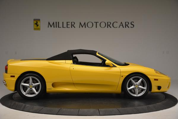 Used 2003 Ferrari 360 Spider 6-Speed Manual for sale Sold at Maserati of Greenwich in Greenwich CT 06830 21