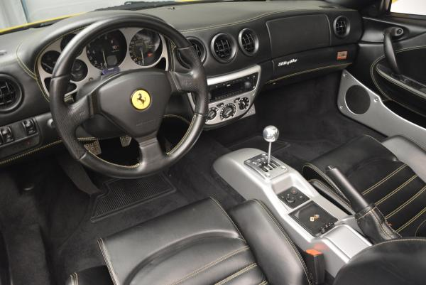 Used 2003 Ferrari 360 Spider 6-Speed Manual for sale Sold at Maserati of Greenwich in Greenwich CT 06830 25