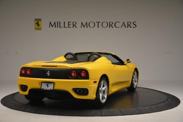 Used 2003 Ferrari 360 Spider 6-Speed Manual for sale Sold at Maserati of Greenwich in Greenwich CT 06830 7