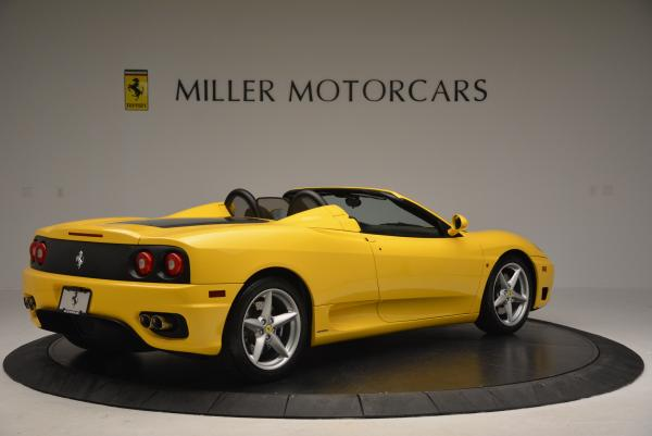 Used 2003 Ferrari 360 Spider 6-Speed Manual for sale Sold at Maserati of Greenwich in Greenwich CT 06830 8