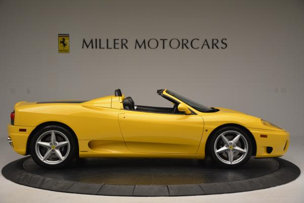 Used 2003 Ferrari 360 Spider 6-Speed Manual for sale Sold at Maserati of Greenwich in Greenwich CT 06830 9