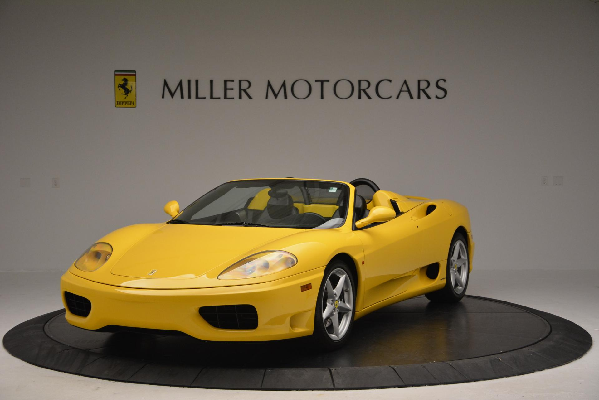 Used 2003 Ferrari 360 Spider 6-Speed Manual for sale Sold at Maserati of Greenwich in Greenwich CT 06830 1
