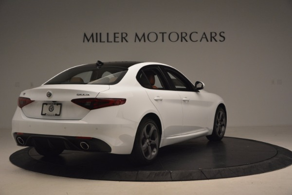 New 2017 Alfa Romeo Giulia Q4 for sale Sold at Maserati of Greenwich in Greenwich CT 06830 8
