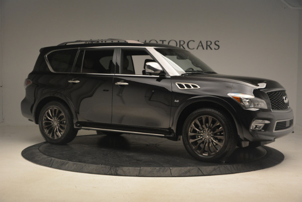 Used 2015 INFINITI QX80 Limited 4WD for sale Sold at Maserati of Greenwich in Greenwich CT 06830 10