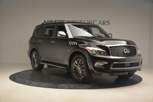 Used 2015 INFINITI QX80 Limited 4WD for sale Sold at Maserati of Greenwich in Greenwich CT 06830 11