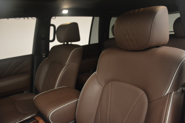 Used 2015 INFINITI QX80 Limited 4WD for sale Sold at Maserati of Greenwich in Greenwich CT 06830 13