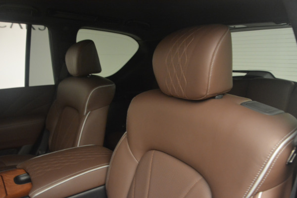 Used 2015 INFINITI QX80 Limited 4WD for sale Sold at Maserati of Greenwich in Greenwich CT 06830 17