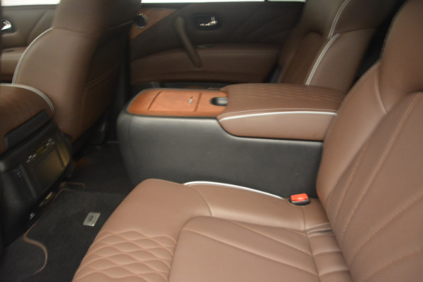 Used 2015 INFINITI QX80 Limited 4WD for sale Sold at Maserati of Greenwich in Greenwich CT 06830 18