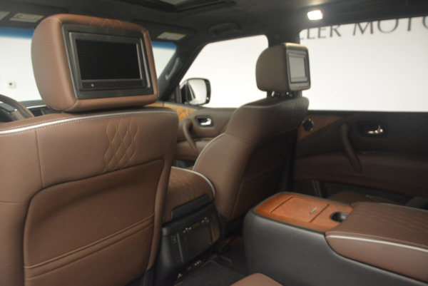 Used 2015 INFINITI QX80 Limited 4WD for sale Sold at Maserati of Greenwich in Greenwich CT 06830 19