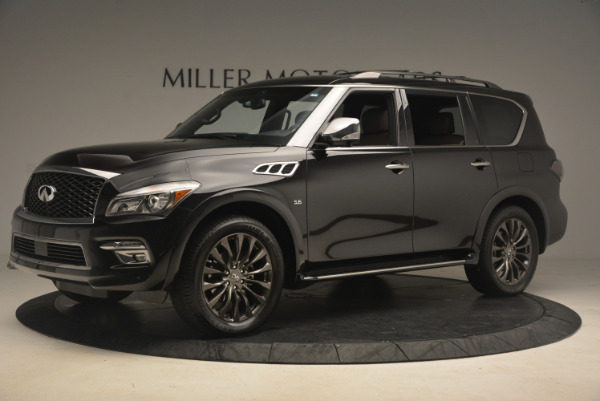 Used 2015 INFINITI QX80 Limited 4WD for sale Sold at Maserati of Greenwich in Greenwich CT 06830 2