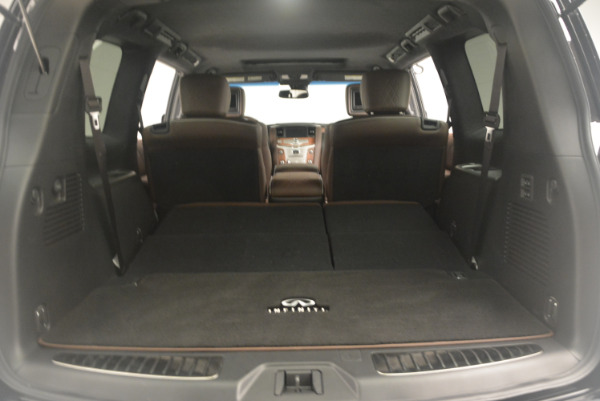 Used 2015 INFINITI QX80 Limited 4WD for sale Sold at Maserati of Greenwich in Greenwich CT 06830 22