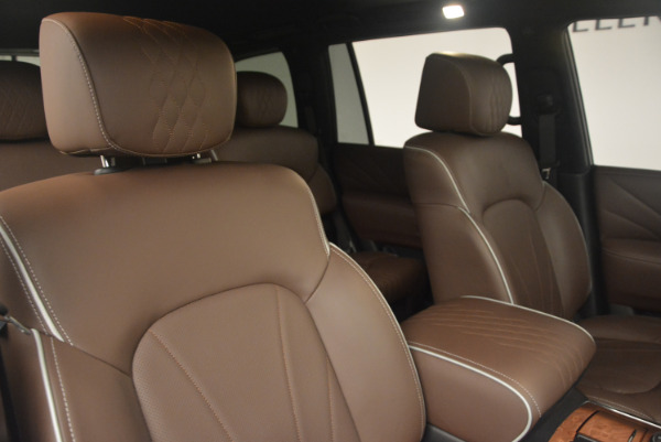 Used 2015 INFINITI QX80 Limited 4WD for sale Sold at Maserati of Greenwich in Greenwich CT 06830 24