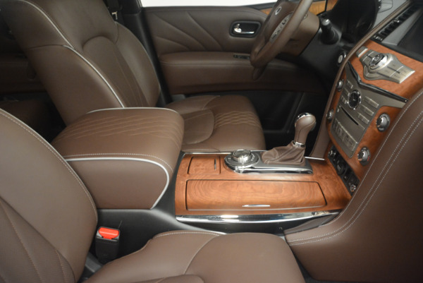 Used 2015 INFINITI QX80 Limited 4WD for sale Sold at Maserati of Greenwich in Greenwich CT 06830 25