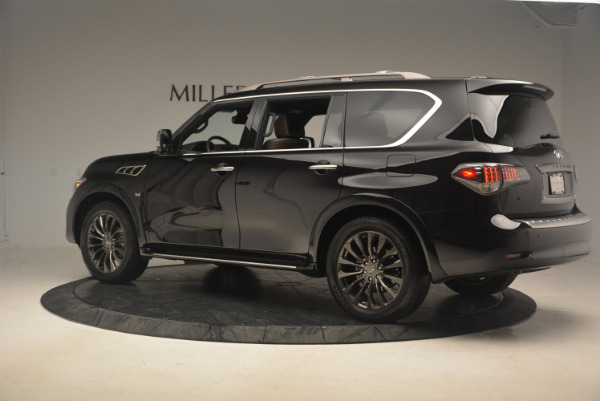 Used 2015 INFINITI QX80 Limited 4WD for sale Sold at Maserati of Greenwich in Greenwich CT 06830 4