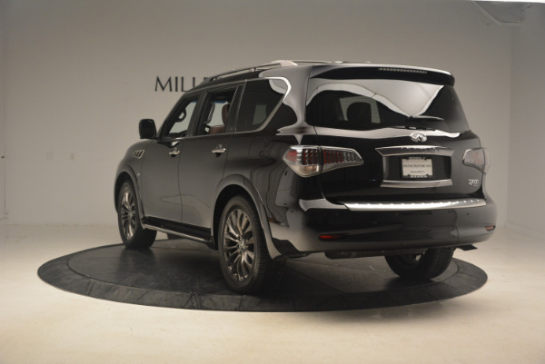Used 2015 INFINITI QX80 Limited 4WD for sale Sold at Maserati of Greenwich in Greenwich CT 06830 5