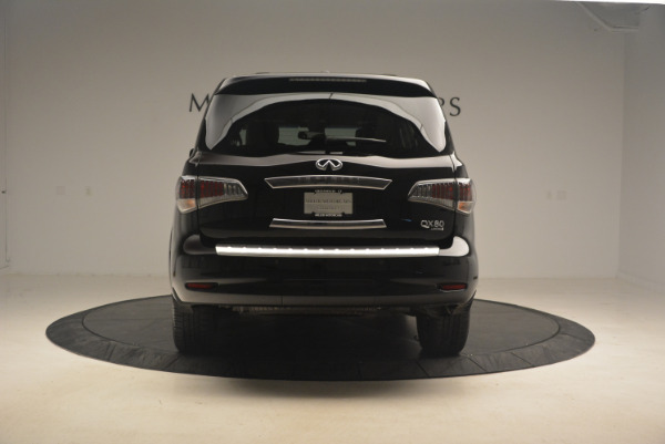 Used 2015 INFINITI QX80 Limited 4WD for sale Sold at Maserati of Greenwich in Greenwich CT 06830 6