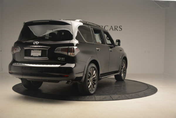 Used 2015 INFINITI QX80 Limited 4WD for sale Sold at Maserati of Greenwich in Greenwich CT 06830 7