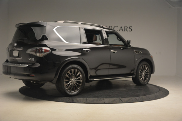Used 2015 INFINITI QX80 Limited 4WD for sale Sold at Maserati of Greenwich in Greenwich CT 06830 8
