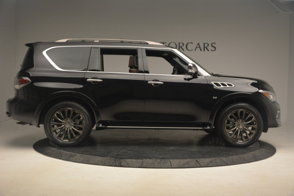 Used 2015 INFINITI QX80 Limited 4WD for sale Sold at Maserati of Greenwich in Greenwich CT 06830 9