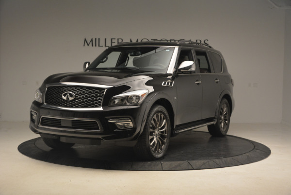 Used 2015 INFINITI QX80 Limited 4WD for sale Sold at Maserati of Greenwich in Greenwich CT 06830 1