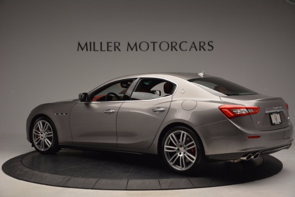 Used 2015 Maserati Ghibli S Q4 for sale Sold at Maserati of Greenwich in Greenwich CT 06830 4