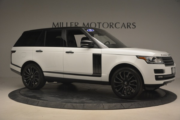 Used 2015 Land Rover Range Rover Supercharged for sale Sold at Maserati of Greenwich in Greenwich CT 06830 10