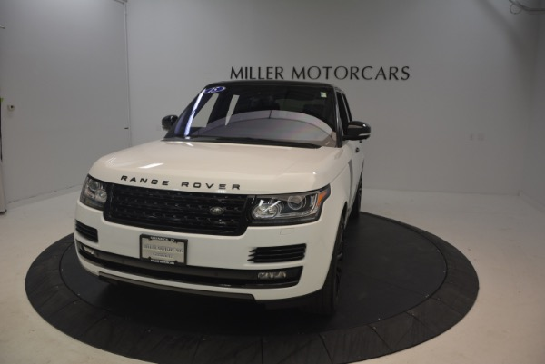 Used 2015 Land Rover Range Rover Supercharged for sale Sold at Maserati of Greenwich in Greenwich CT 06830 13