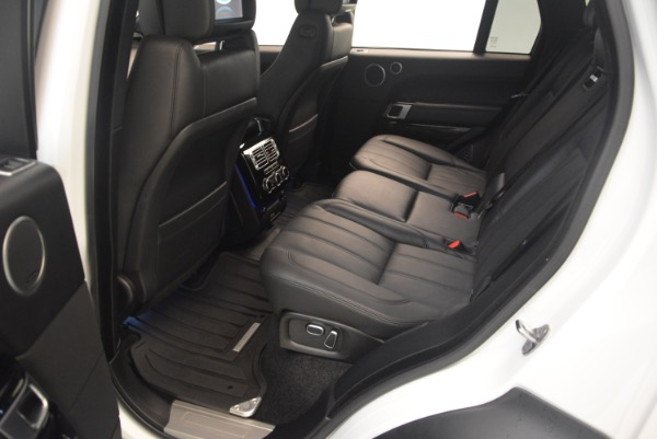 Used 2015 Land Rover Range Rover Supercharged for sale Sold at Maserati of Greenwich in Greenwich CT 06830 23