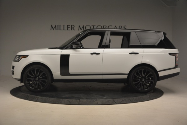 Used 2015 Land Rover Range Rover Supercharged for sale Sold at Maserati of Greenwich in Greenwich CT 06830 3