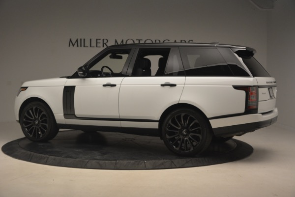 Used 2015 Land Rover Range Rover Supercharged for sale Sold at Maserati of Greenwich in Greenwich CT 06830 4