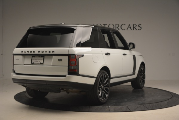Used 2015 Land Rover Range Rover Supercharged for sale Sold at Maserati of Greenwich in Greenwich CT 06830 7