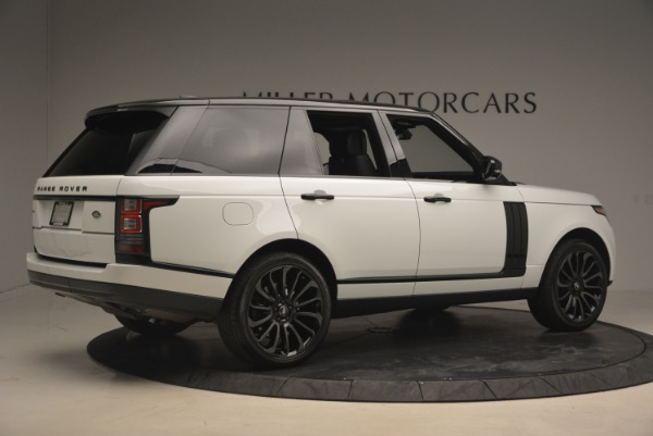 Used 2015 Land Rover Range Rover Supercharged for sale Sold at Maserati of Greenwich in Greenwich CT 06830 8