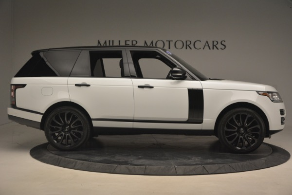 Used 2015 Land Rover Range Rover Supercharged for sale Sold at Maserati of Greenwich in Greenwich CT 06830 9
